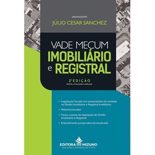 Livro - Vade Mecum Imobiliário e Registral - Sanchez - Jh Mizuno