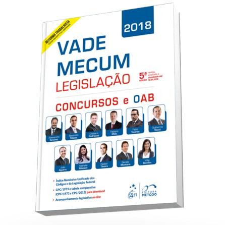Livro - Vade Mecum Legislação - Concursos e Oab - Editora Método