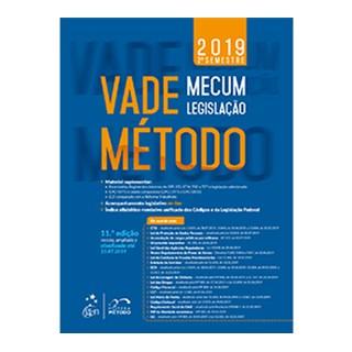 Livro - Vade Mecum - Legislação - Método - 2019