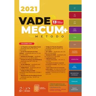 Livro Vade Mecum+ Método 2021 - Método - Pré-Venda