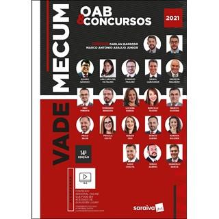 Livro - Vade Mecum OAB & concursos - Victalino 13º edição