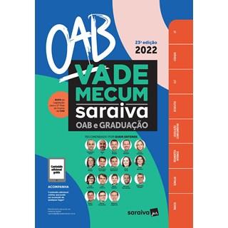 Livro Vade Mecum OAB e Graduação 2021 - Saraiva