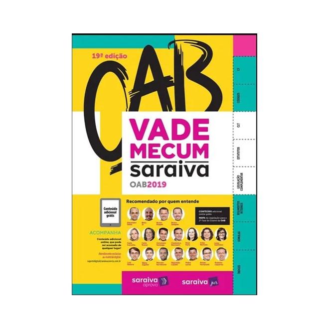 Livro  -   Vade Mecum OAB Saraiva 2019