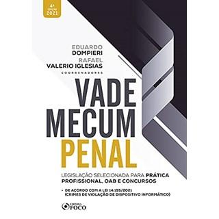 Livro - Vade Mecum Penal -  Legislação Selecionada Para Prática Profissional, Oab e Concursos - Estevees