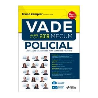 Livro - Vade Mecum policial - 5ª edição - 2019 - Fernandes 5º edição