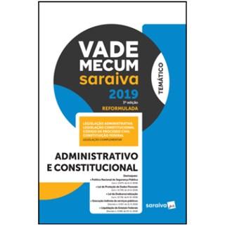 Livro - Vade Mecum Saraiva 2019 - Administrativo e Constitucional