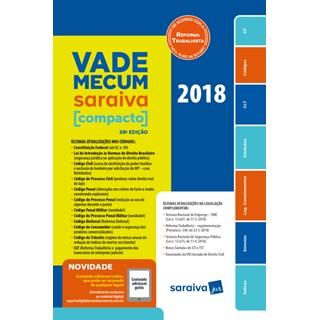Livro - Vade Mecum Saraiva - Compacto - 2018