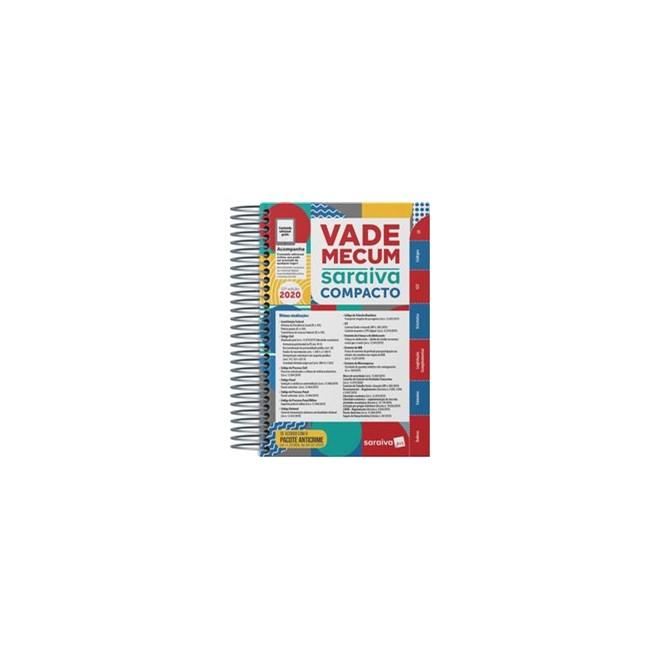 Livro - Vade Mecum Saraiva Compacto Espiral 2020 - 22ª Edição - Editora Saraiva 22º edição