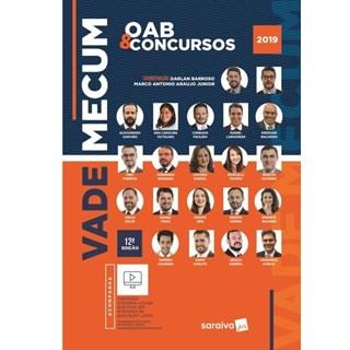 Livro - Vade Mecum Saraiva - OAB e Concursos - 12ª Ed. 2018