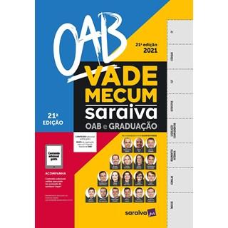 Livro - Vade Mecum saraiva OAB - SARAIVA S/A LIVREIROS EDITORES 20º edição