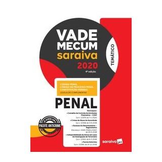 Livro - Vade Mecum Temático - Penal - Editora Saraiva 4º edição