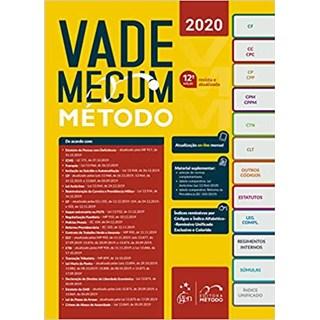 Livro Vade Mecum Tradicional Método 2020 - Método