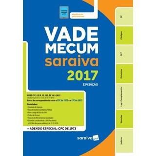 Livro - Vade Mecum Tradicional Saraiva 2017