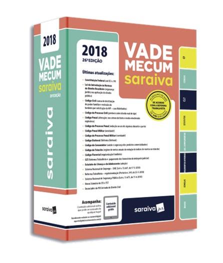 Livro - Vade Mecum Tradicional Saraiva 26ª edição