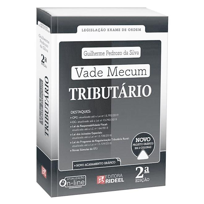 Livro - Vade Mecum Tributário Legislação Exame de Ordem - Silva