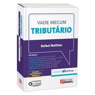 Livro - Vade Mecum Tributário  - Legislação Objetiva - Matthes
