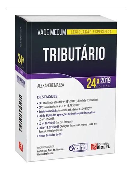Livro - Vade Mecum Tributario  - Mazza