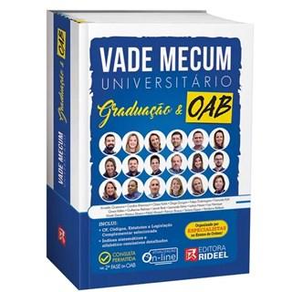 Livro - Vade Mecum Universitário Graduação E Oab