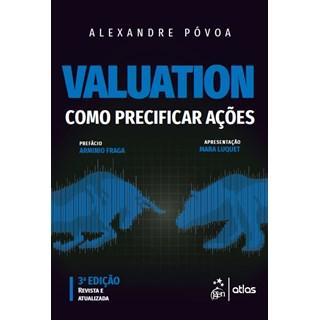 Livro Valuation Como Precificar Ações - Póvoa - Atlas