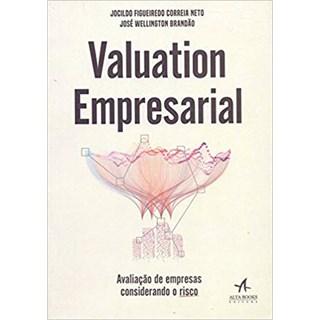 Livro - Valuation Empresarial: Avaliação de Empresas Considerando o Risco - Correia Neto