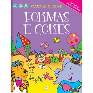 Livro - Vamos Aprender Formas e Cores - Libris