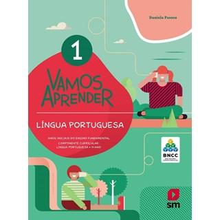 Livro - Vamos Aprender Língua Portuguesa - 1 Ano - BNCC - SM