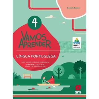 Livro - Vamos Aprender Língua Portuguesa - 4 Ano - BNCC - SM