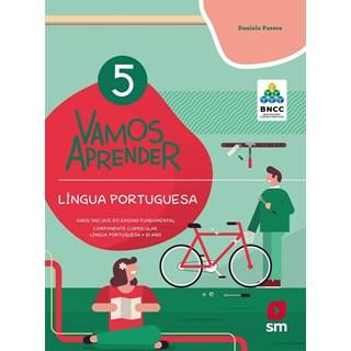Livro - Vamos Aprender Língua Portuguesa - 5 Ano - BNCC - SM