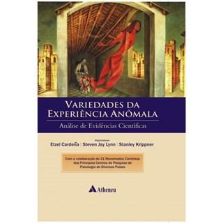 Livro - Variedades da Experiência Anômala - Cardeña