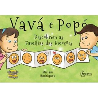 Livro - Vavá e Popó Descobrem as Famílias das Emoções - Rodrigues