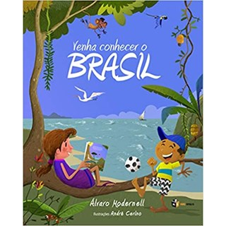 Livro - Venha Conhecer o Brasil - Modernell - Mais Ativos