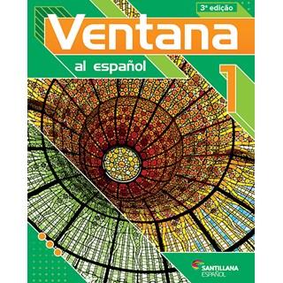 Livro Ventana Al Espanõl 1 - Santillana