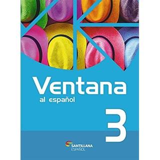 Livro Ventana al Español 3 - Almeida - Santillana