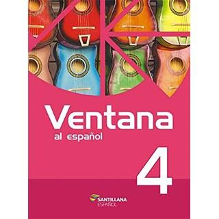 Livro Ventana al Español 4 - Almeida - Santillana