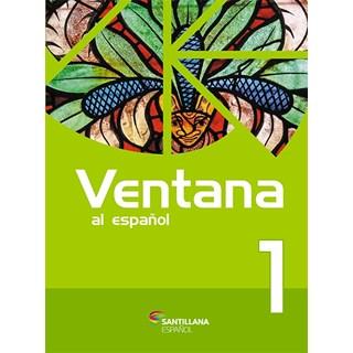 Livro - Ventana Al Espanõl -  Vol 1 - Santillana