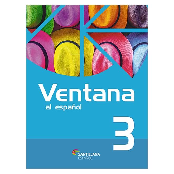 Livro - Ventana Al Español - Vol 3 - Santillana