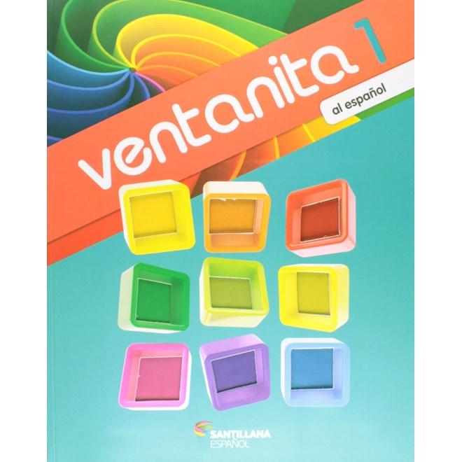 Livro Ventanita al Español 1 - Santillana