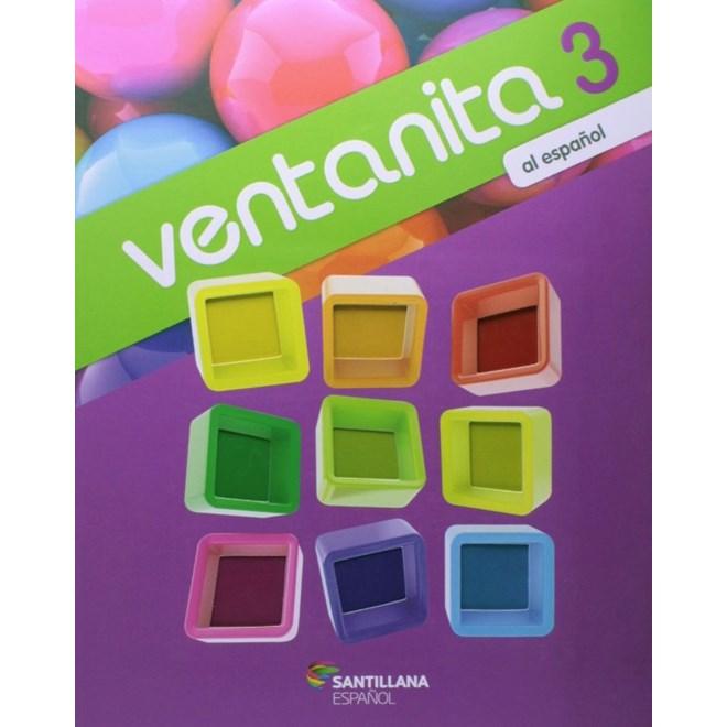 Livro Ventanita al Español 3 - Santillana