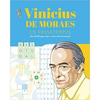 Livro - Vinicius de Moraes em Passatempos - Moraes - Coquetel