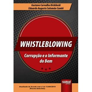 Livro Whistleblowing - Kichileski - Juruá
