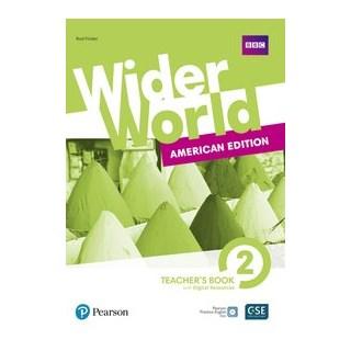 Livro - Wider World 2: American Edition - Teachers Book With Digital Resources + Online - Fricker 2º
