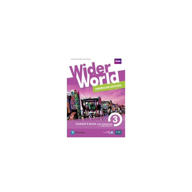 Livro - Wider World 3: American Edition - Students Book and Workbook With Digital Resources + Online
