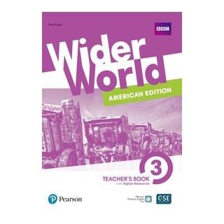 Livro - Wider World 3: American Edition - Teachers Book With Digital Resources + Online - Fricker 3º