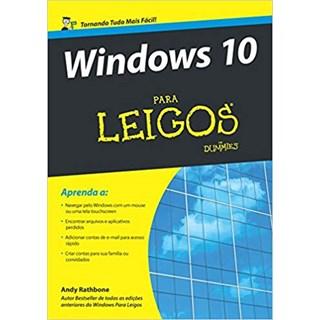 Livro - Windows 10 Para Leigos - Rathbone