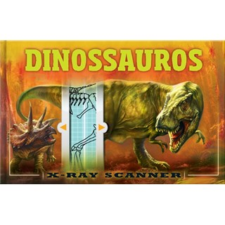 Livro - X-Ray Scanner - Dinossauros - Claybourne