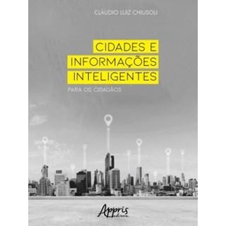 Livros - Cidades e Informações Inteligentes para os Cidadãos - Chiusoli