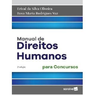 MANUAL DE DIREITOS HUMANOS PARA CONCURSOS - SARAIVA