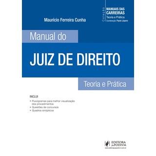 MANUAL DO JUIZ DE DIREITO - JUSPODIVM
