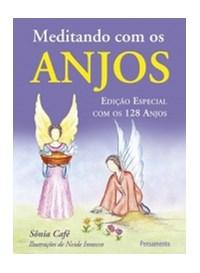Livro Meditando Com Os Anjos Edicao Especial Com Os 128 Anjos Pe