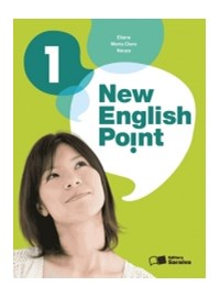 Livro New English Point 1 Saraiva